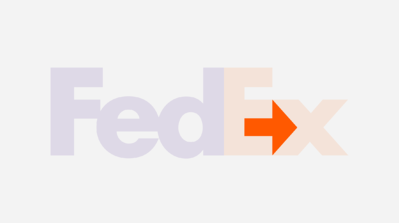 fedex logo and its hidden arrow