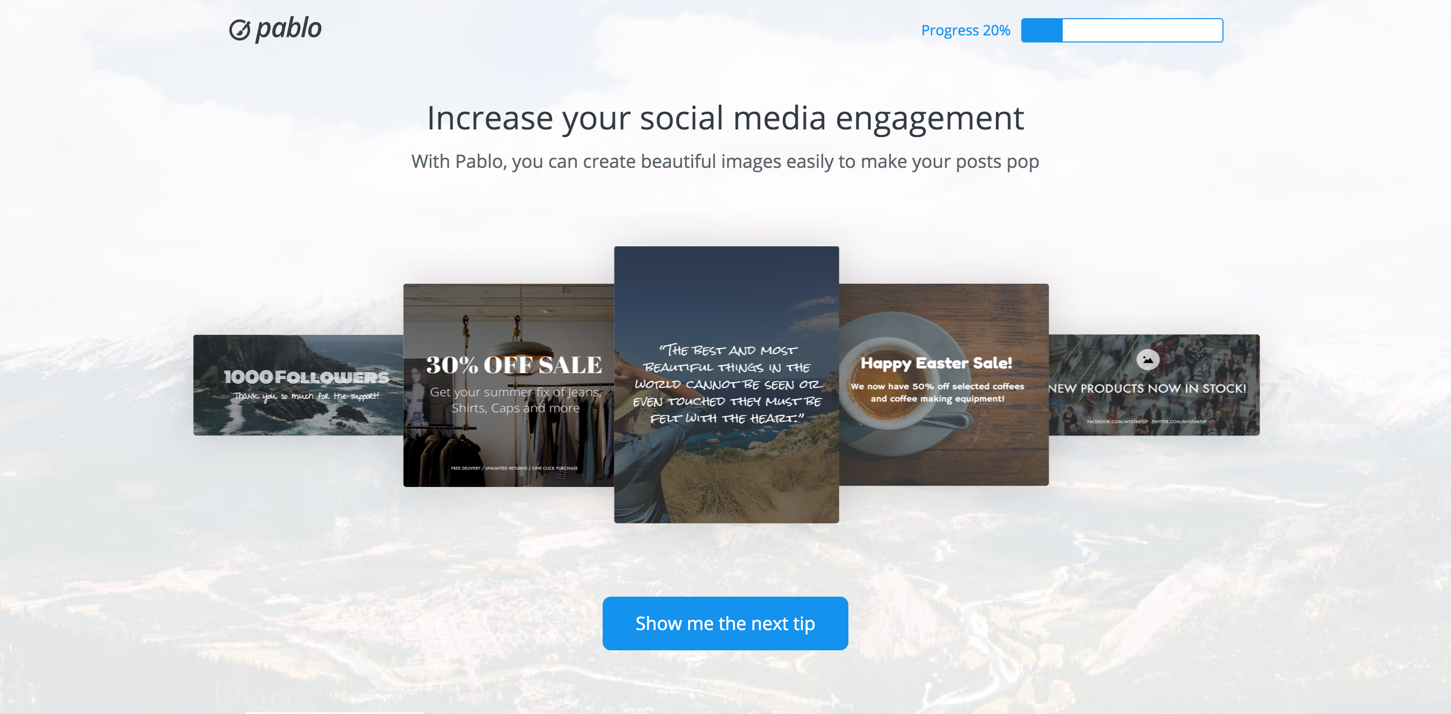 Online design tools Pablo by Buffer